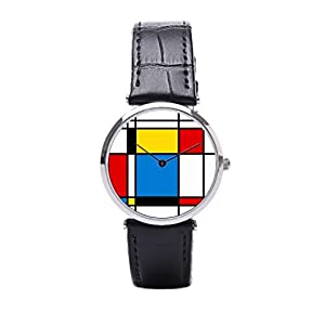 Dr. Koo Timepiece Watch Leather Band Fashionable Leather Wrist Watch