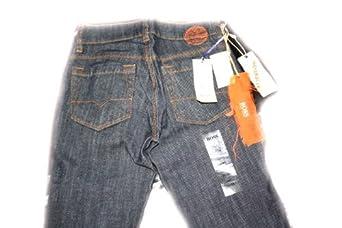 hugo boss jeans blau navy gr 24 bekleidung. Black Bedroom Furniture Sets. Home Design Ideas