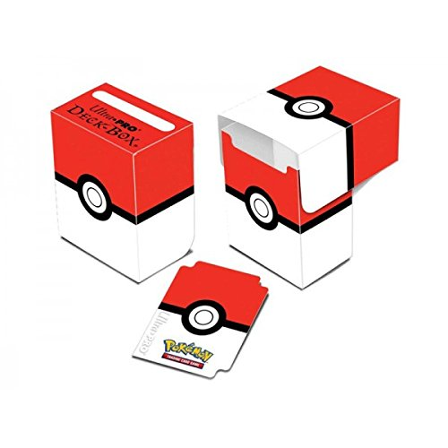 Ultra Pro Pokemon Card Supplies Deck Box Red & White Pokeball - 1