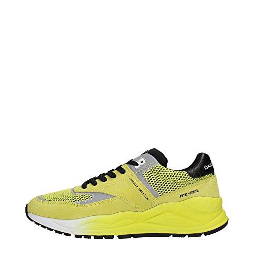 Frankie Morello 19YE Sneakers Uomo Scamosciato Yellow Yellow 43