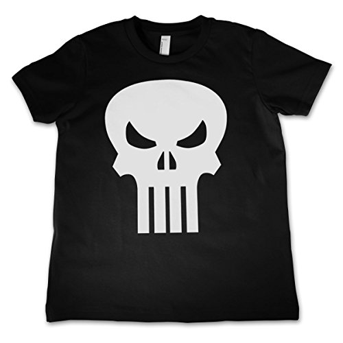 Officially-Licensed-Merchandise-The-Punisher-Skull-Unisex-Kids-T-Shirts-Ages-3-12-Years