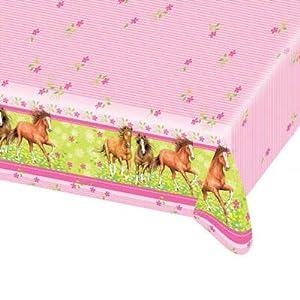 Tischdecke Pferde, 120 x 180cm von Party-Discount