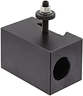 "Dorian Tool V5 Victory Thru Coolant Chromium Molybdenum Alloy Steel Quick Change Morse Taper Toolholder for V35TC Automatic Thru Coolant Tool Post, MT4, 2-31/64"" Height"