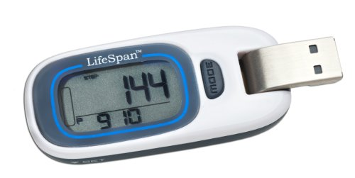 Buy Low Price LifeSpan MyStride Activity Tracker (White, Small) (PD1000)