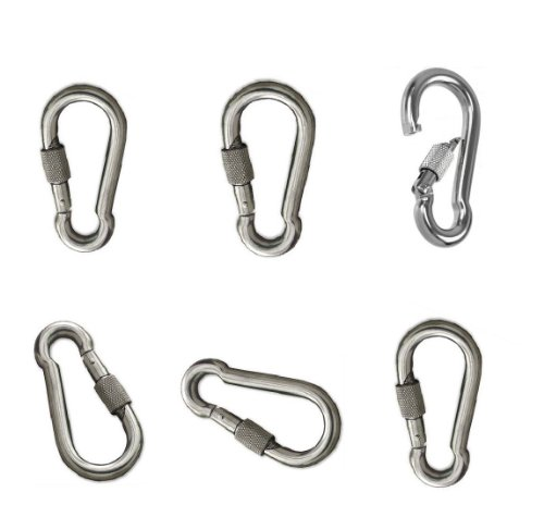 Stainless Steel 304 Spring Snap Hook Carabiner