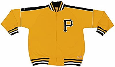 MLB Pittsburgh Pirates Contrast Shoulder Track Jacket