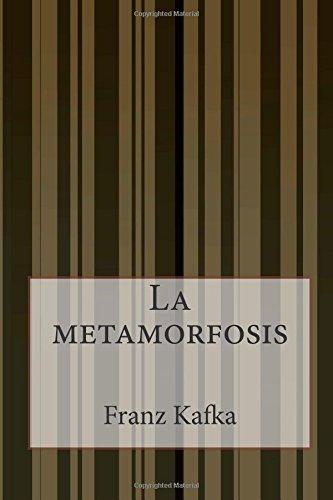 La Metamorfosis descarga pdf epub mobi fb2