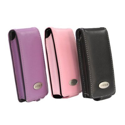 i-nique Exec soft Napa leather case for Samsung YP-K3 - Pink