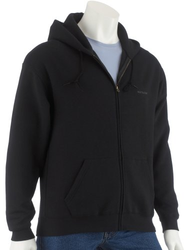 fruit-of-the-loom-classic-hooded-jacket-schwarz-l