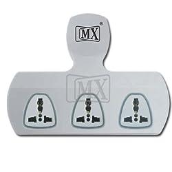 MX 3 PIN 3 WAY UNIVERSAL ADAPTOR 5 AMP
