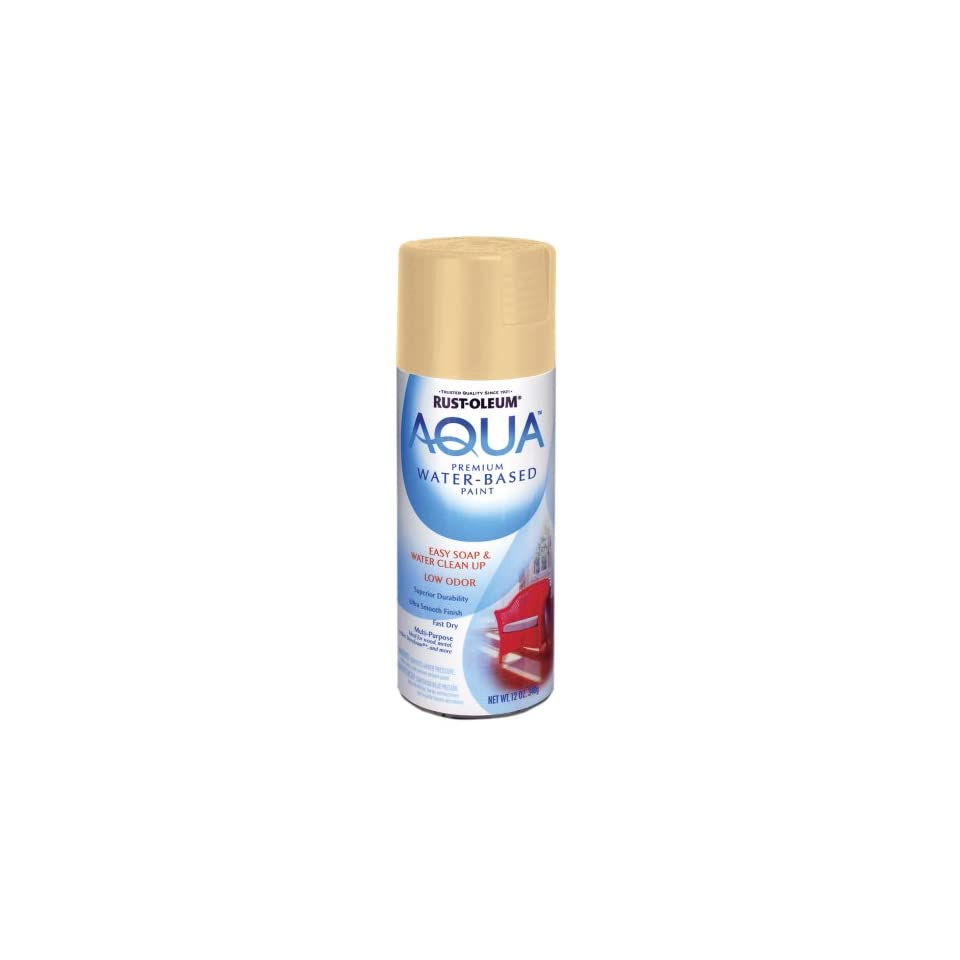 Rust Oleum 223631 Aqua Spray, Oyster, 12 Ounce