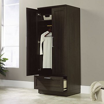 HomePlus Wardrobe Cabinet(Dakota Oak Finish)