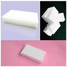 100pcs Set Magic Sponge Eraser Brush Nano Decontamination Cleaning Sponge - White