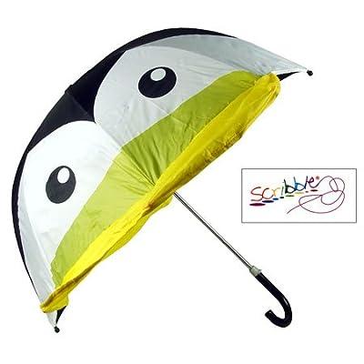 (Scribble) Kids Penguin Umbrella