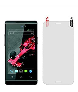 Quantric Tempered Glass for xolo a500s [Cutout for Proximity Sensor], 0.3mm thickness, 9H Hardness, 2.5D Curved Edge, Reduce Fingerprint, No Rainbow, Bubble Free & Oil Stains Coating with Alcohol wet cloth pad & clean micro fibre Dry cloth, Anti Explosion Tempered Glass Screen Protector for xolo a500s