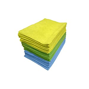 Zwipes Microfiber 36-Pack of Cleaning Cloths