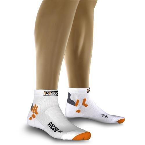 X-Bionic 76927 - Calzini da ciclismo, da uomo, Bianco (bianco), Size 39-41
