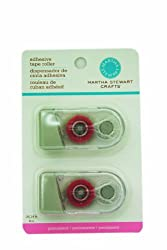 Martha Stewart Permanent Adhesive Tip Roller, 2-Pack