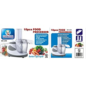 Food processor 10pcs (case of 8)
