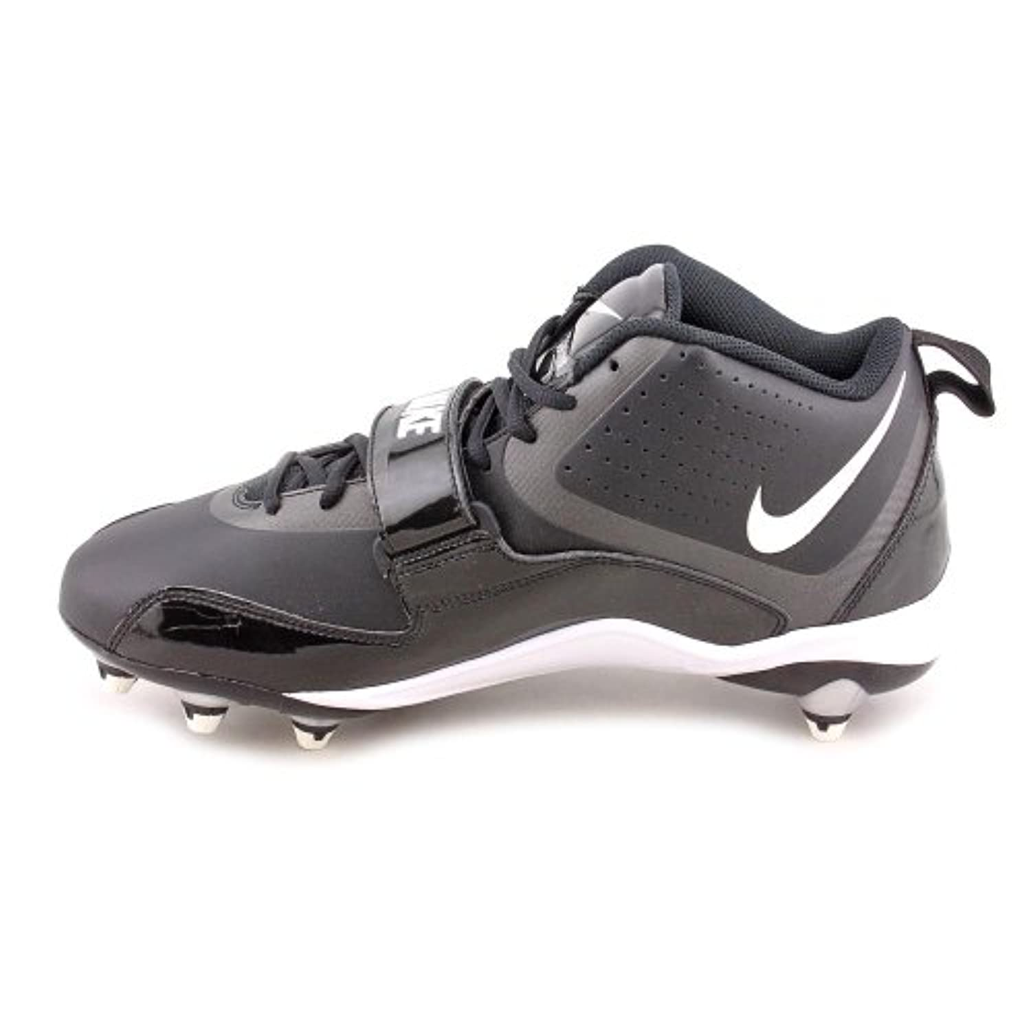 Nike Zoom Code D Mens Black/White Mid Top Football Cleats