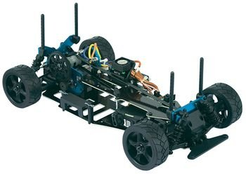 Reely 01:10 electric street model car4WD C-4ZG BL RtR 40 MHz FM