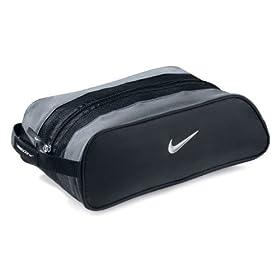Nike Club Shoe Tote, Black/Silver