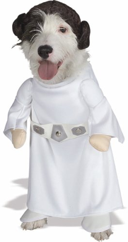 Princess Leia Dog Costume, X-Large 