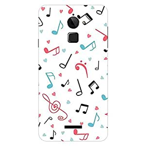 Garmor Designer Silicone Back Cover For Coolpad Note 3 Plus