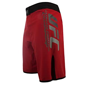 UFC Boy's Grappler Training Shorts, Red, 28