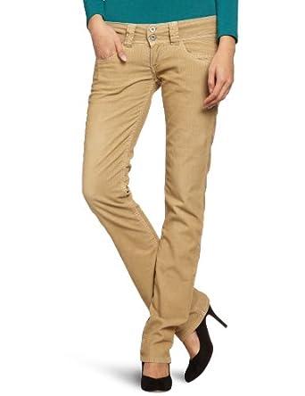 pepe jeans damen jeans niedriger bund pl210006t754 venus gr 28 beige fawn. Black Bedroom Furniture Sets. Home Design Ideas