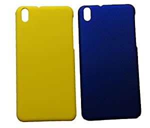 Winsome Deal Hard Back Cover Case for HTC Desire 816 (Pack Of 2)