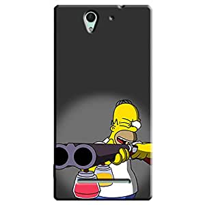 PRINTED BACK COVER SONY XPERIA C3