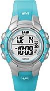 Timex Womens T5K460 1440 Sports Blue Resin Digital Watch