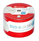 Mirror DVD-R 16X Full Face Ink Jet Printable (50 Discs)