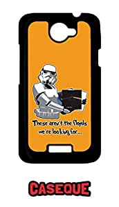 Caseque They aren't the Floyds We're Looking for Back Shell Case Cover for HTC One X