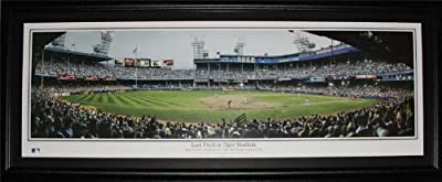Detroit Tigers Stadium Final Pitch 1999 baseball Panorama frame