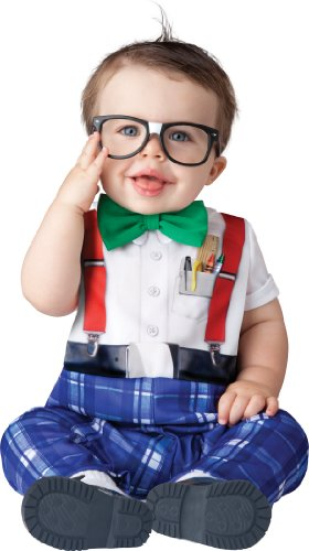 InCharacter Baby Boy's Nursery Nerd Costume