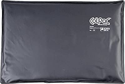 Chattnooga Colpac Cold Therapy, Black Polyurethane, 12.5 x 18.5 (Oversize), 5.75-Pound
