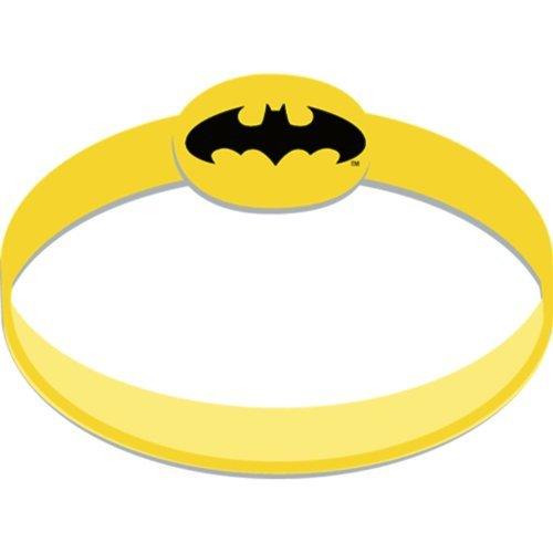 Batman The Dark Knight Rubber Wristbands (4) Party Supplies