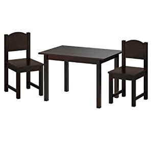 ikea sundvik children 39 s table and 2 chairs set black