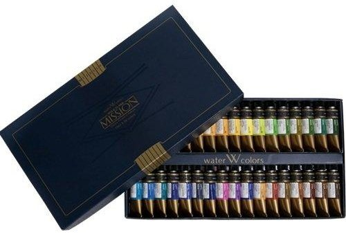 mission-gold-water-color-set-34-colors-by-mijello-mission-gold-class
