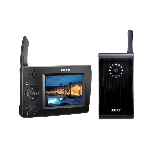 Uniden+UDW10003+Wireless+Video+Survillance+Portable+Security+System+%28Black%29