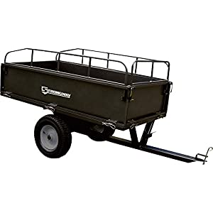 Strongway Steel Dump Cart - 1,200-Lb. Capacity, 17 Cu. Ft. by Strongway