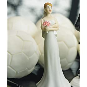 Weddingstar Exasperated Bride Mix & Match Cake Topper - Caucasian