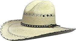 BULL-SKULL HATS, PALM LEAF COWBOY HAT, GUS 508