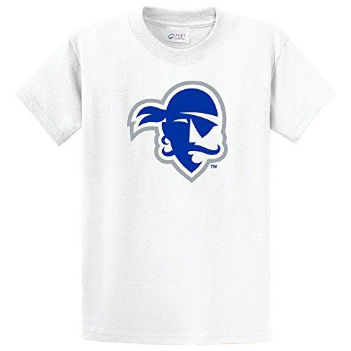 NCAA Seton Hall Pirates Short Sleeve Tee, XX-Large, White (Seton Co compare prices)