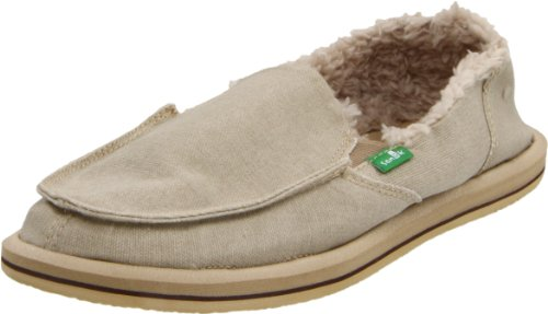 Sanuk Women's Vagabond Chill Slip-On Loafer,Tan,8 M US