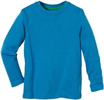 ESPRIT Jungen Langarmshirt Essential T-Shirt, Gr. 128/134 (XS), Blau (STRONG BLUE)