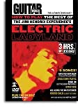DVD - How To Play The Best Of Jimi Hendrix Experience's Electric Ladyland - DVD (REGION 0)