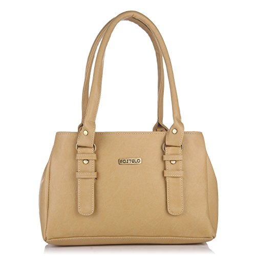 Fostelo Women's Westside Shoulder Bag (Beige) (FSB-413)
